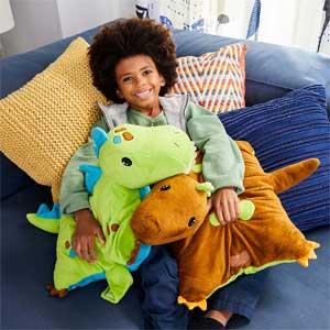 Green Dinosaur Stuffed Animal Bean Bag Chair Amp Cushion