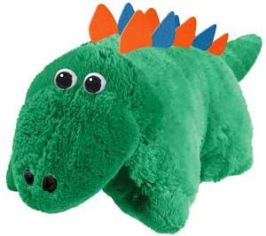 Green Stegosaurus Stuffed Animal Bean Bag Love It